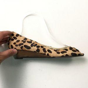 Steve Madden womens Cheetah Flats 6.5 A23:x01772